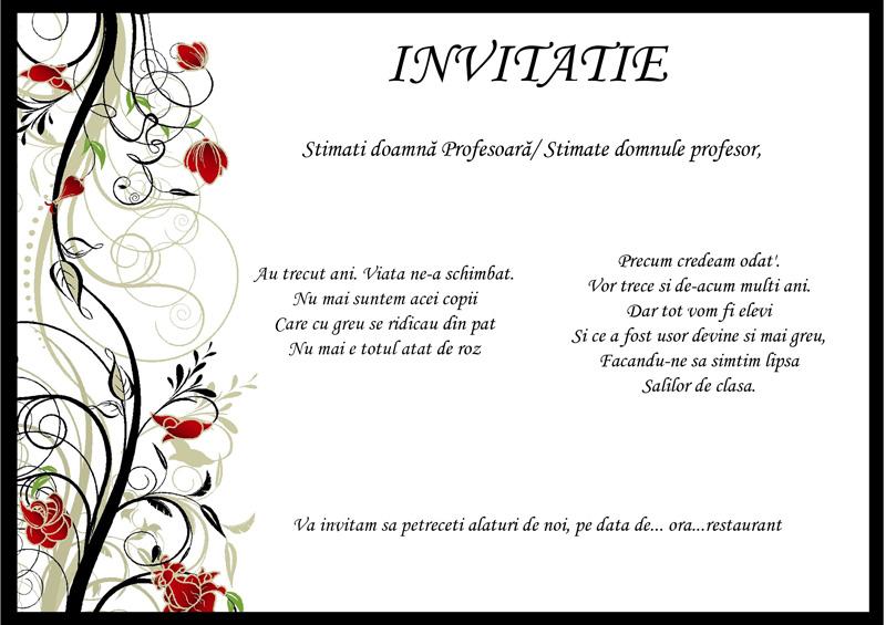 Invitatii Absolvire Inchirieri Robe